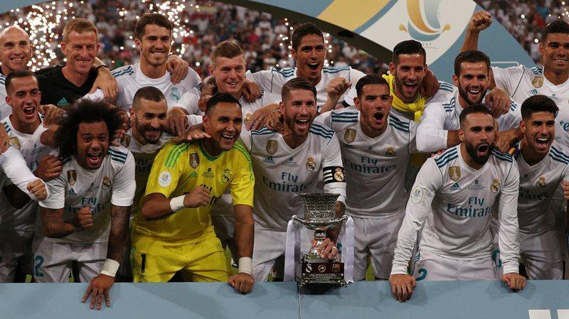 Hancurkan Barcelona 5-1, Madrid Jadi Jawara Piala Super Spanyol