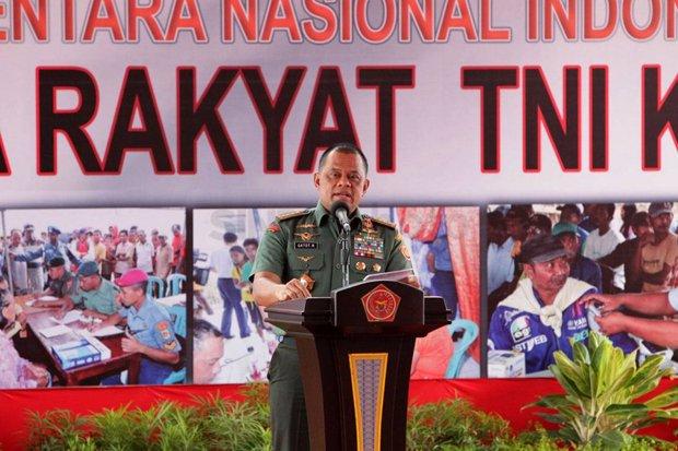 Tangkal Kejahatan Siber, Panglima TNI Resmikan Satsiber
