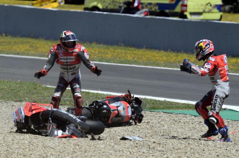 Dovizioso Akui Dihalangi Lorenzo saat Mengaspal di MotoGP Spanyol 2018
