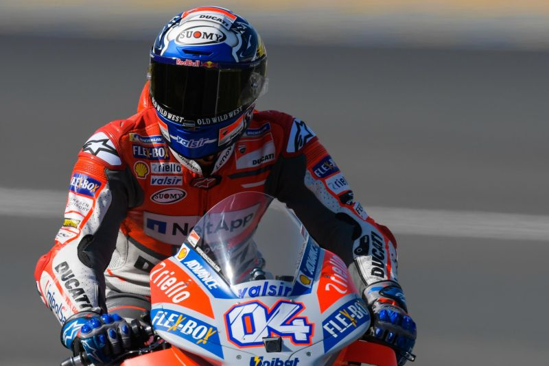 Dovizioso Pecahkan Rekor Top Speed di MotoGP
