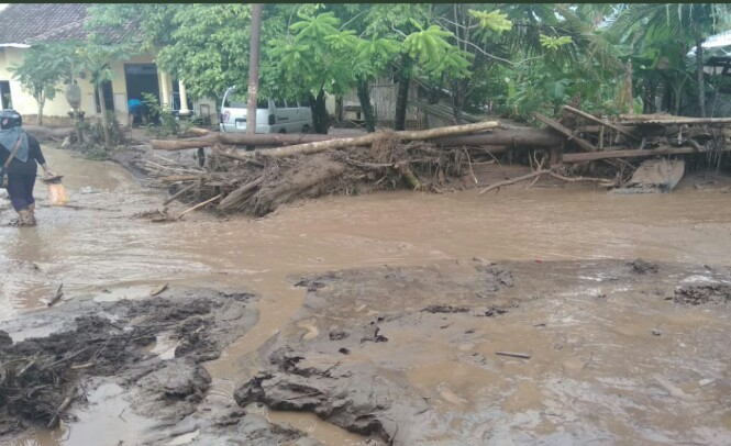 banjir bandang di banyuwangi berasal dari material