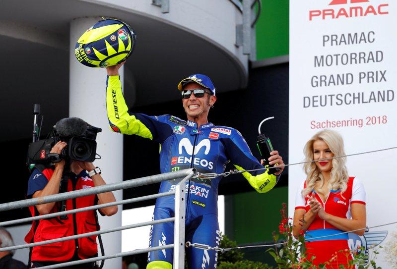 Kembali Mengaspal di MotoGP 2018, Rossi Ngaku Butuh Liburan Lebih Panjang