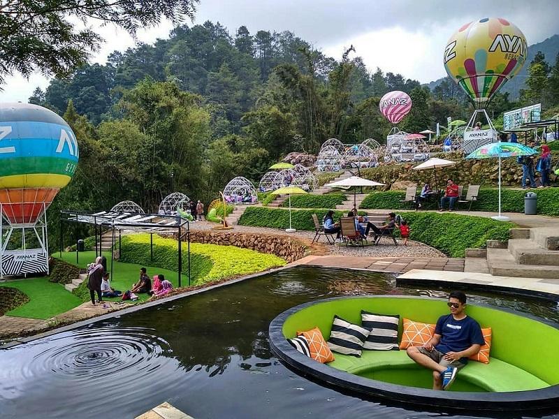Ayana Gedong Songo Wisata Baru Semarang Yang Instagramable