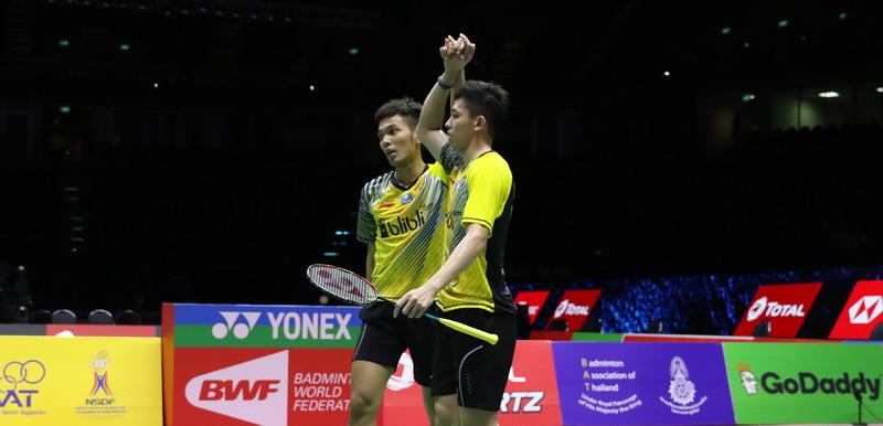 Menangi Laga Sengit, Fajar/Rian Maju ke Semifinal Hong Kong Open 2018