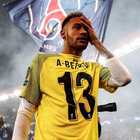 Aksi Nyeleneh Neymar yang Kelabui Hakim Garis Laga PSG vs Liverpool