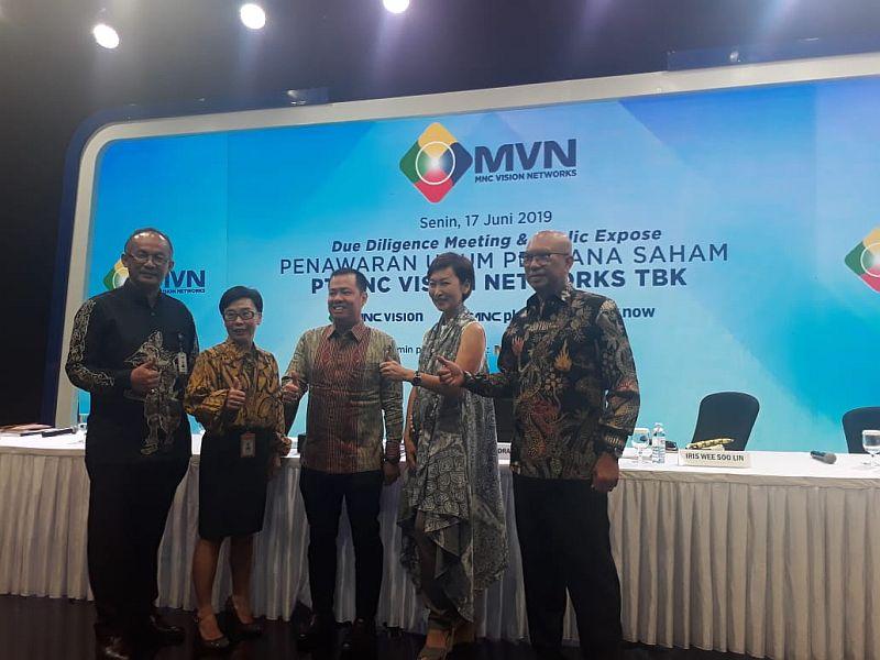 MNC Vision Network saat Public Expose