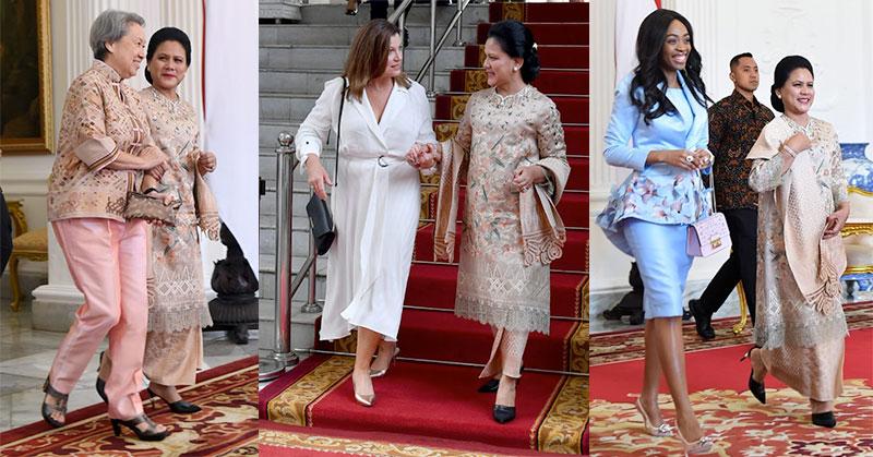 https: img-o.okeinfo.net content 2019 10 20 194 2119426 cantiknya-3-istri-kepala-negara-di-samping-iriana-jokowi-saat-pelantikan-presiden-LMvDeYFDy9.jpg