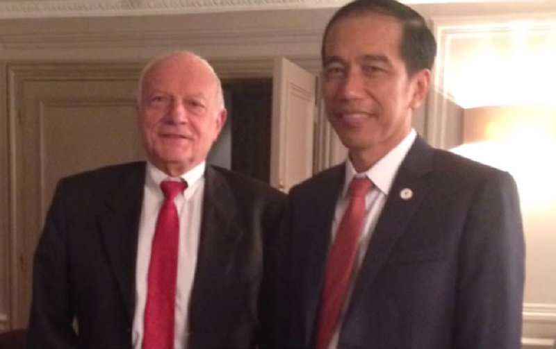 Jokowi dan Bernard