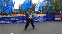 Buruh Geruduk Jakarta, Arus Lalin Dialihkan