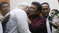 Divonis 10 Bulan Penjara, Ridho Menangis di Pelukan Rhoma Irama
