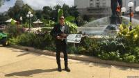 Keren! Maestro Biola Tengku Ryo Perkenalkan Musik dan Songket Indonesia di Amerika