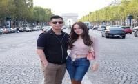 Romantisnya Shandy Aulia dan Suami Saat Menikmati Kota Paris dari Menara Eiffel