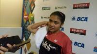 Kalahkan Wakil Norwegia, Gregoria Mariska Melaju ke Babak 3 Kejuaraan Dunia Bulu Tangkis Junior 2017