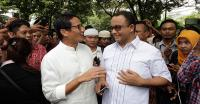 Dilantik sebagai Gubernur-Wakil Gubernur DKI Jakarta, Ini Konsentrasi Anies-Sandi pada Olahraga