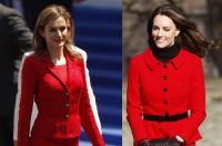 Urusan Gaya Busana, Ratu Letizia Sering Disandingkan dengan Kate Middleton! Terbaru, Mereka Kenakan Dress Bunga-Bunga!