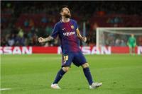 Messi Cetak 100 Gol di Eropa, Sergi Roberto: Tidak Ada Kata yang Bisa Menggambarkan Pemain Terbaik dalam Sejarah Sepakbola