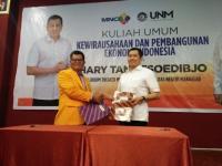 MNC Jalin Kerjasama Pengembangan Wirausaha dengan UNM, Hary Tanoe Juga Serahkan Beasiswa ke Mahasiswa