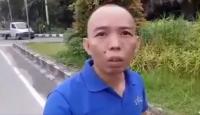 VIRAL! Pria Botak <i>Ngaku</i> Polisi saat Ditilang, Pas Dicecar Jawabannya <i>Bikin</i> Ngakak