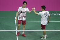 Raih Kemenangan <i>Straight Set</i>, Marcus/Kevin Lanjutkan Tren Positif Indonesia di Denmark Open 2017
