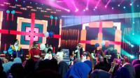 HUT MNCTV: Rizky Febian dan Adit Sopo Jarwo Bernyanyi Bersama di Festival Kilau Raya 26
