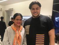 Bahagianya Ivan Gunawan Bertemu dengan Ibu Negara Iriana Widodo