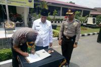 Instruksi Kapolri, Polres Solok Teken MoU soal Pengawasan Dana Desa