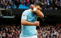 Cetak Gol ke Gawang Burnley, Aguero Jadi Pencetak Gol Banyak Man City