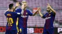 Hasil Liga Spanyol 2017-2018 Semalam: Valencia Pesta Gol, Barca Bungkam Malaga