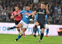 Hasil Pertandingan Napoli vs Inter Milan: Bermain Ketat, 2 Kesebelasan Harus Puas Berbagi Angka