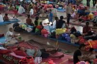 Dikunjungi PMI, Kepala BPBD Sampaikan Keluhan Pengungsi Gunung Agung
