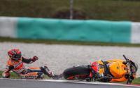 Unggul 33 Poin dari Dovizioso di Klasemen MotoGP 2017, Peluang Marc Marquez Terpeleset di Sirkuit Sepang Terbuka Lebar