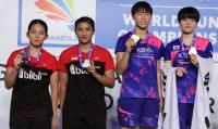 Keluar sebagai <i>Runner-up</i> Kejuaraan Dunia Bulu Tangkis Junior 2017, Jauza/Ribka Akui Keunggulan Lawan