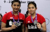 Raih Medali Perak di Kejuaraan Dunia Bulu Tangkis Junior 2017, Jauza/Ribka: Ini Bonus bagi Kami