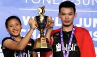 Persembahkan Medali Emas Kejuaraan Dunia Bulu Tangkis Junior 2017, Rinov/Mentari: Kami Buktikan Diri