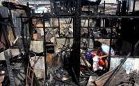 Prihatin Korban Kebakaran, Perindo Pemalang Berikan Bantuan