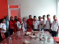 Jalin Silaturahmi Politik, Perindo Majalengka Sambangi 9 Parpol