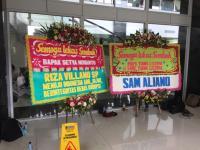 Heboh Karangan Bunga Sindir Novanto yang Dirusak Orang di RSCM, Sang Pengirim Akhirnya Angkat Bicara