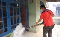 Cegah DBD, Rescue Perindo <i>Fogging</i> Permukiman di Pagedangan Tangerang