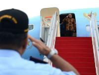Meriahnya Sambutan Ribuan WNI saat Presiden Jokowi Temu Kangen di Malaysia