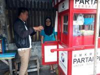 UMKM DPP Perindo Pantau Penerima Gerobak di Bogor