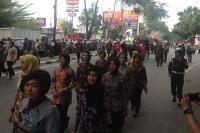 Angkut 5.000 Tamu Resepsi Bobby-Kahiyang, 20 Bus Beroperasi Nonstop