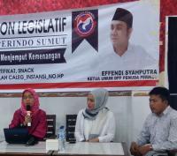 DPW Perindo Sumut Buka Sekolah Politik, Ini 3 Tips untuk Perempuan Agar Menang di Pileg 2019