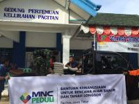 Dandim Apresiasi Penyaluran Bantuan MNC Peduli bagi Korban Banjir dan Longsor di Pacitan