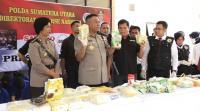 Tangkap Komplotan Kapolsek Lolowau, Polisi Sita 38 Kg Sabu