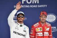 Gagal Jadi Juara F1 2017, Hamilton Yakin Vettel Dapat Tekanan Luar Biasa