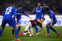 AC Milan Akhiri Babak Pertama 1-1 Kontra Bologna