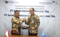 GMF-Garuda Indonesia Sepakat Perpanjang Kerjasama Perawatan Pesawat