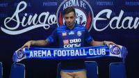 Arema FC Perkenalkan Pemain Asing Baru
