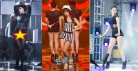 5 Tampilan Seksi Idola K-pop Wanita Pakai 'Swimsuit' saat Manggung