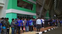 Begini Antusiasme Bobotoh Jelang Pembukaan Piala Presiden di GBLA